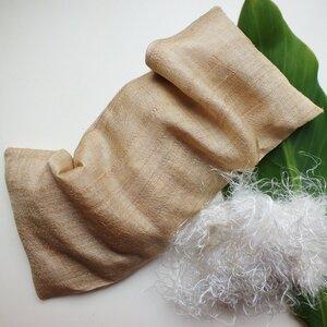 Kirschkernkissen BURAO aus Bananenfaser und Peace Silk - MAVOLU