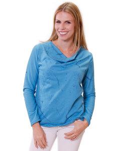 Bio-Gräserzauber-Wasserfallshirt - Peaces.bio - handbedruckte Shirts