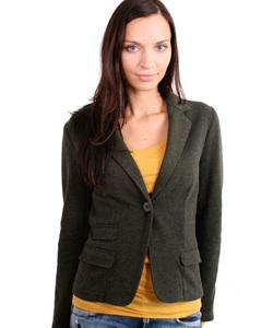 Wool Jersey Blazer - Alma & Lovis