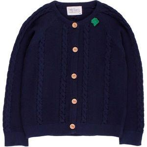 'Green Cotton'  Strickjacke in 2 Farben - Green Cotton