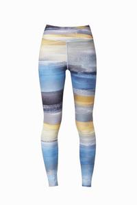 Oil Paint Leggings mit extra Hüfttasche  - boochen