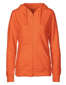 Damen College Hoodie Zoodie Hoody Kapuzenjacke Sweatjacke Ladies only - Neutral