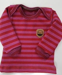 Babyshirt Knit-Knit-Stripes in 2 Farben - Omilich