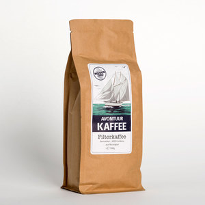 Gesegelter Filterkaffee - gemahlen 500g - AVONTUUR