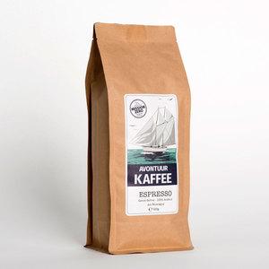 Gesegelter Espresso Kaffee - ganze Bohne 500g - AVONTUUR