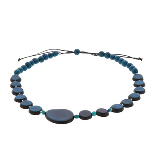 Andrea Halskette aus Tagua, Chicon und Acai  - MoreThanHip-Joyas