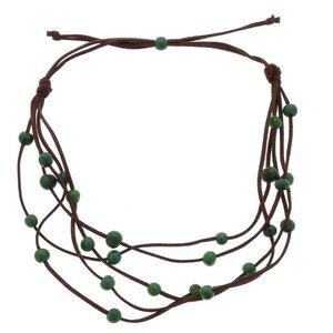 Paulina 5-saitige Halskette mit Acai-Samen - MoreThanHip-Joyas