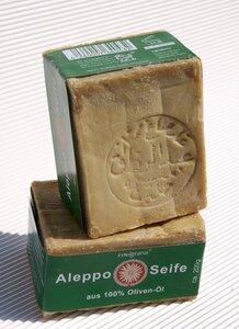 FINigrana-Aleppo-Seife aus reinem Olivenöl. 200g - Finigrana