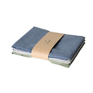 3er Pack bente - geschirrtuch aus 60% bio-baumwolle und 40% leinen - erlich textil