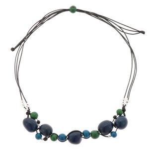 Jennyffer Halskette mit Chicon und Acai Samen  - MoreThanHip-Joyas