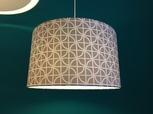 Hängeleuchte Grafic mauve - my lamp
