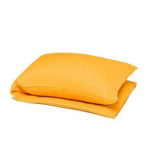 Wärmekissen mit Bio-Weizenkörnern Gelb/Grau Töne - Terrible Twins