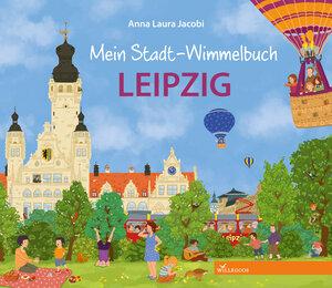 Leipzig Pappbilderbuch mein Stadt Wimmelbuch - Willegoos Verlag