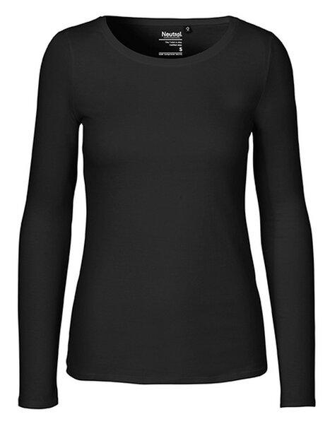 4d040867fc32ce Neutral - Damen Langarm T-Shirt von Neutral Bio Baumwolle