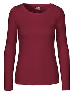 Damen Langarm T-Shirt von Neutral Bio Baumwolle - Neutral