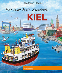 kiel Pappbilderbuch mein Stadt Wimmelbuch - Willegoos Verlag
