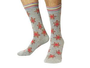 Socken Bio GOTS |Bunte Socken |Herren Damen Socken | Star Socks - Natural Vibes