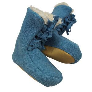 Baby Stiefelchen Booties Bio-Wollwalk - Pickapooh