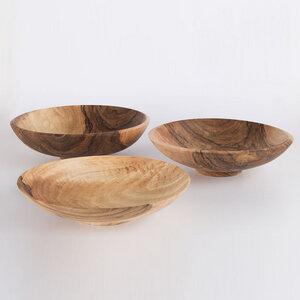 Nussbaum Holzschale - in verschiedenen Größen - Lajos Varga