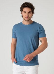 Basic T-Shirt aus Bio Baumwolle in Slub Jersey - ORGANICATION