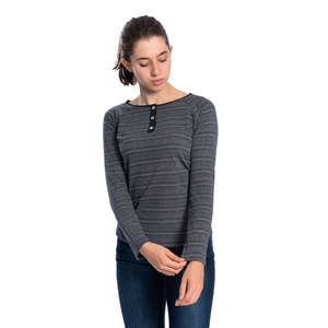 Source Longsleeve Damen Navy - bleed