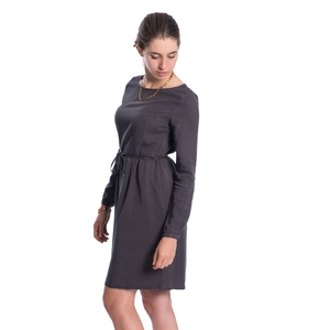 Cold Dye Kleid Damen Schwarz - bleed