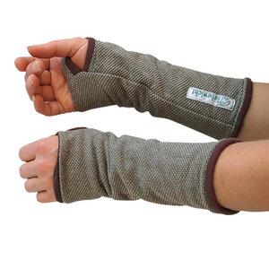 Stulpen Handstulpen wendbar Bio Sweat/ Frottee verschiedene Farben - liebewicht