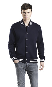 Men's Organic Varsity Jacket - EarthPositive