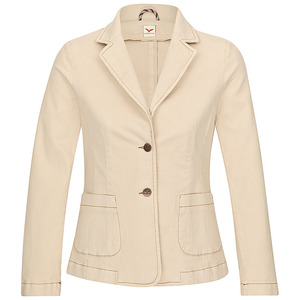 Softcotton Blazer Sirrka in Beige - Feuervogl