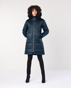 Daunenmantel - Ladies' Nordic Puffer - Midnight Blue - Hoodlamb