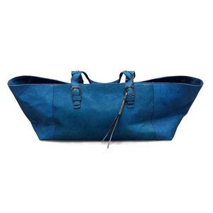 große Schultertasche aus Leder - Fair Trade - Tahoua