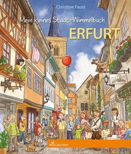 Erfurt Pappbilderbuch mein Stadt Wimmelbuch - Willegoos Verlag