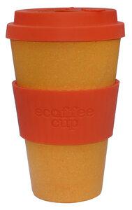 ecoffee cup Blackout einfarbig 400ml - ecoffee