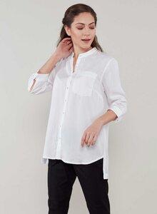 Leichte Sommer 3/4 Sleeve Tencel® Blouse - ORGANICATION