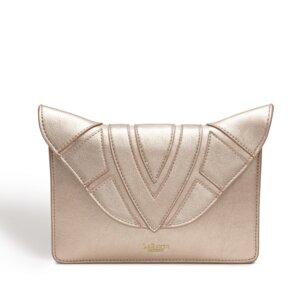 ' Monarch ' Umhängetasche Tasche mit Kette Cross Body Rosa Gold - LaBante London