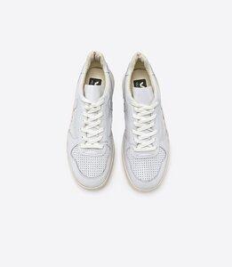 Sneaker V10 Leather Extra White - Veja
