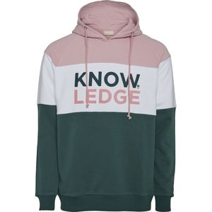 Pullover - Hood sweat Knowledge - Bistro Green - KnowledgeCotton Apparel