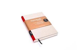 Design Notizbuch DIN A6 - Grau - tyyp