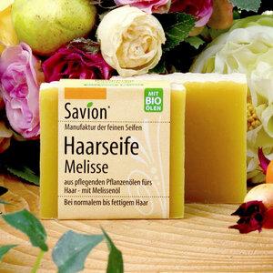 Savion Melisse Haarseife 85g - Savion feine Seifen