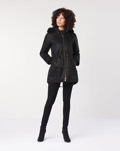 Winterjacke - Ladies' HoodLamb Parka - Black - Hoodlamb