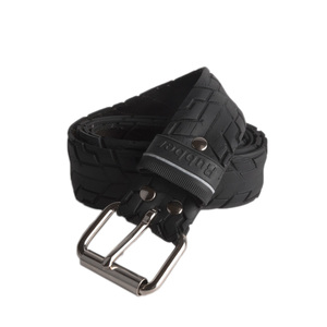 "Upcycling Gürtel  ""Cycle""  aus Fahrrad-Reifen mit Profil (vintage) - Tire Belt"