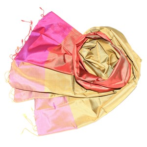 AURELIA Schal aus handgewebter Seide - Schönes aus Indochina
