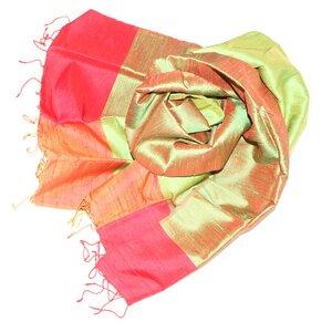 ELSIE Edler Schal aus handgewebter Seide - Schönes aus Indochina