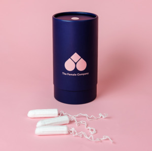Bio-Tampons in der blauen Designbox (42 Stück) - The Female Company