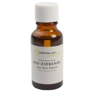 Reines Bio Zirbenöl 100 % naturrein - Handarbeit aus Österreich - 4betterdays