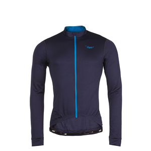 Merino Longsleeve Winter Trikot VELOZIP Men - triple2