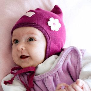 Baby Mütze Zoe Bio-Baumwolle - Pickapooh