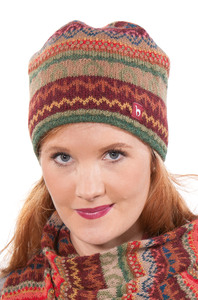 100% Alpaka-Mütze aus Peru - LUNA - Apu Kuntur