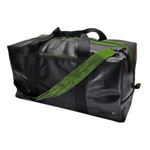 Viajero - große Reisetasche aus LKW Schlauch - blau, orange, grün - MoreThanHip