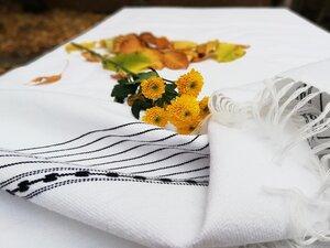 DARNA Handgewebter Tischläufer aus Baumwolle - LaMalve